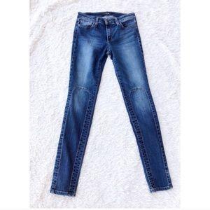 JOE'S JEANS Skinny Panel Corinne Moto Jeans 26